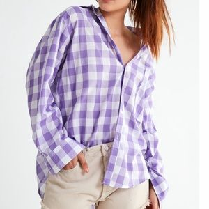 Urban Outfitters 802 Gingham Button Down Top 4